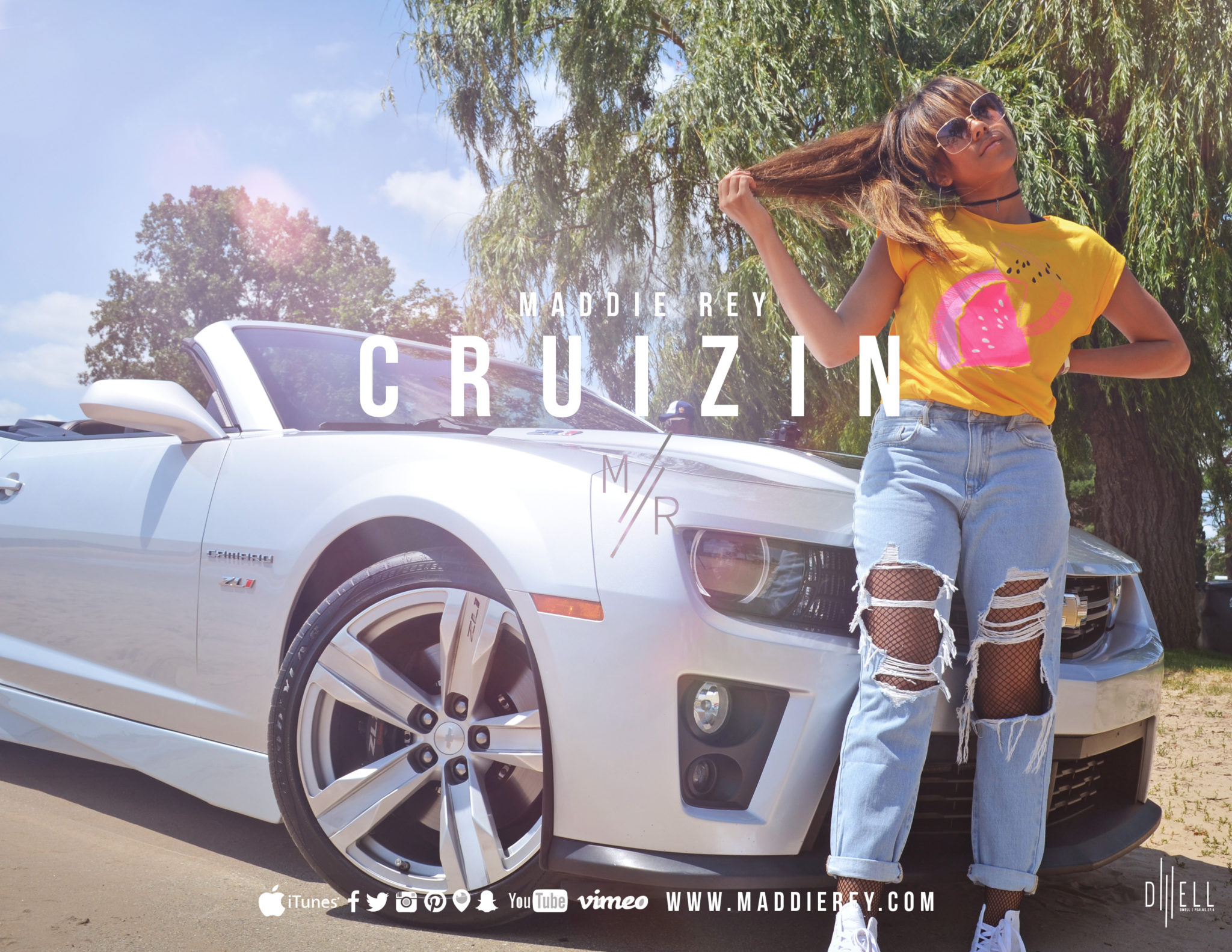 MADDIE REY RELEASES 'CRUZIN' TO CHRISTIAN RADIO