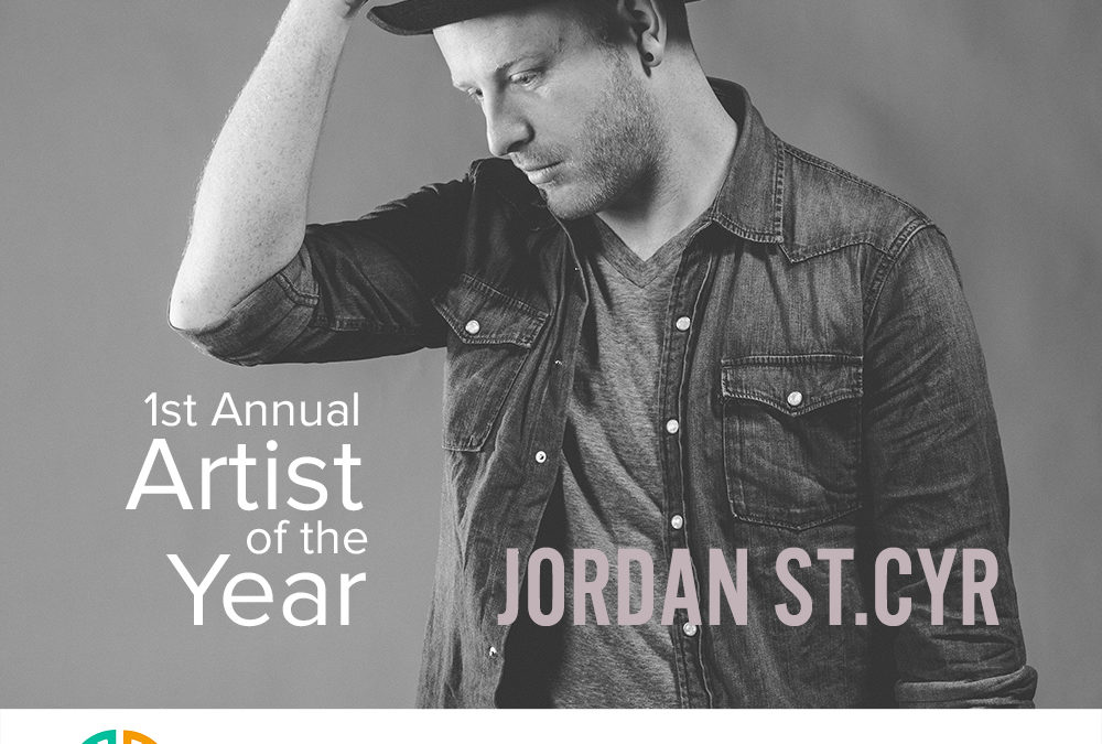 JORDAN ST.CYR WINS ARTIST OF THE YEAR AT TALENT CONTEST