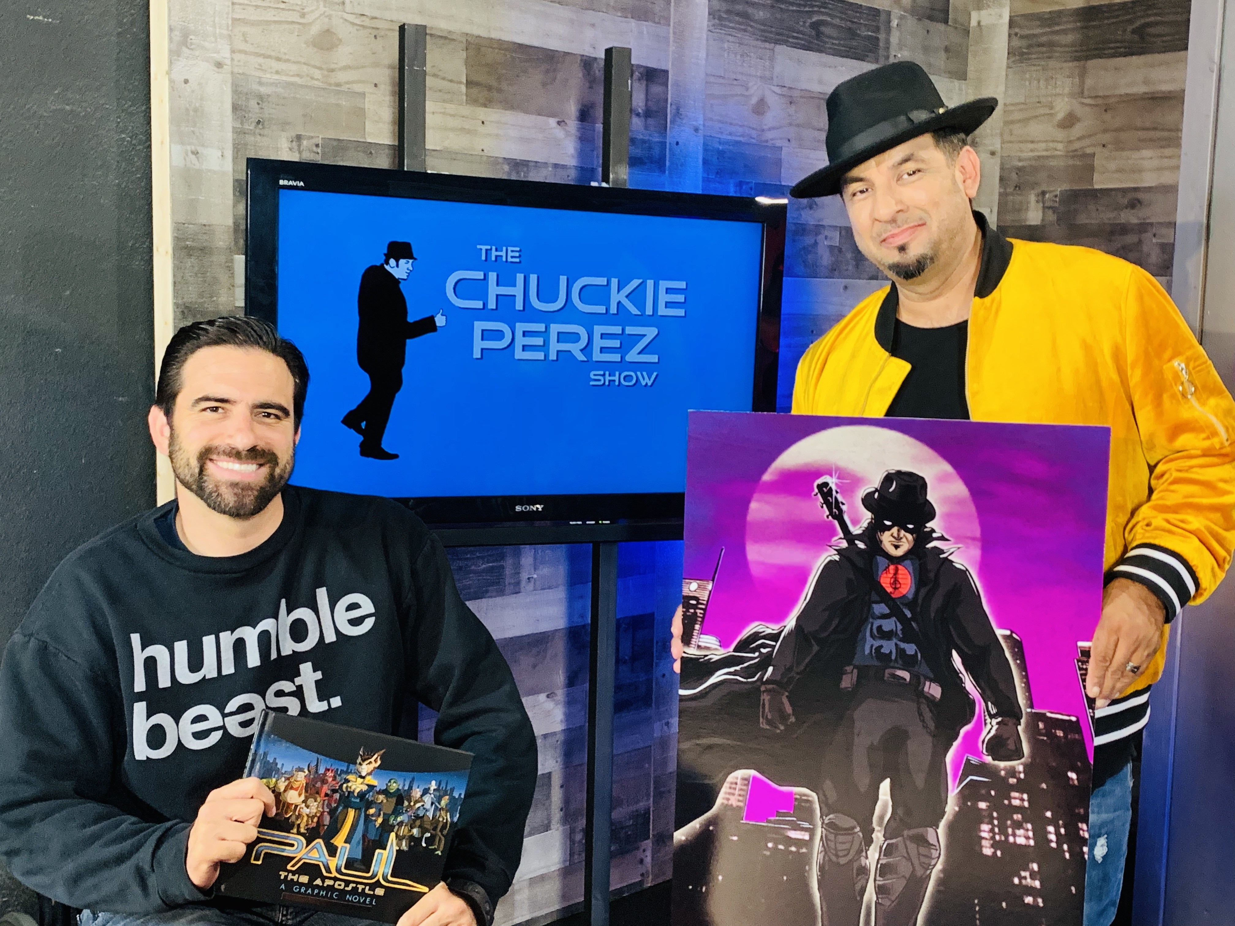 'THE CHUCKIE PEREZ SHOW' IS UNDERWAY WITH NEW EPISODES