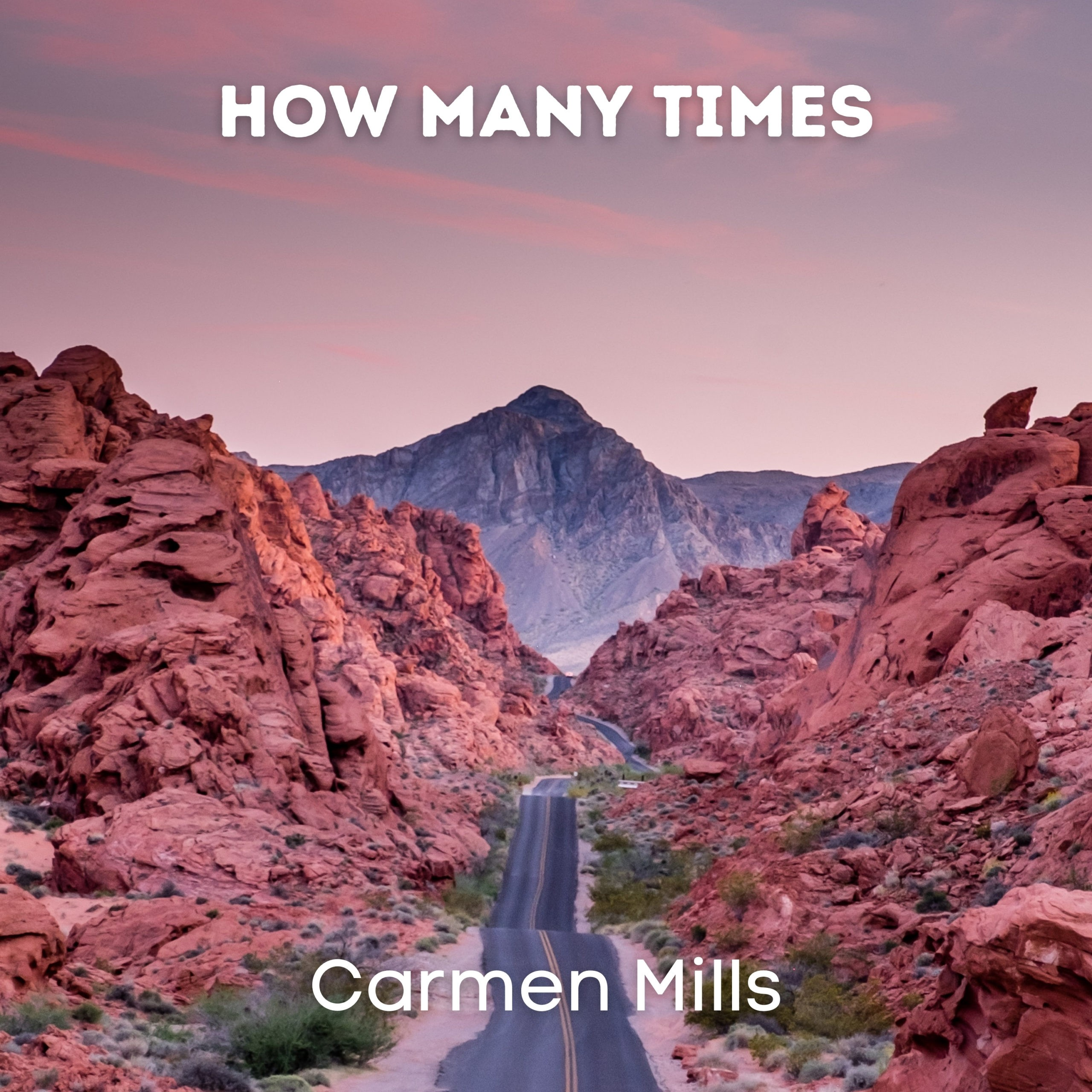 NEW SINGLE OUT TODAY FROM SINGER/SONGWRITER CARMEN MILLS